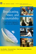 COVER broadcasting, voice and accountability